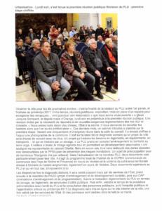 26 fev 2016 Urbanisation Réunion publique révision du PLU