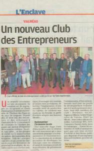 Nouveau club des entrepreneurs