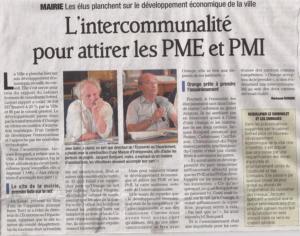 Attirer les PME - PMI avec l'intercommunalité