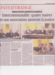 Quatres maires et une association saisiront la justice