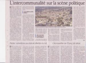 Intercommunalité sur la scène politique