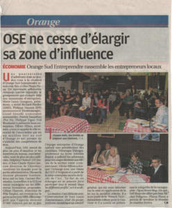 OSE ne cesse d'elargir sa zone d'influence 4dec2016