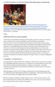 Pole Emploi participe a la reunion OSE 3fev2016