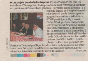Reunion OSE projets chefs d'entreprise 22mars2016