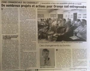 9 juin 2016 ZAC du Coudoulet - De nombreux projets et actions pour OSE