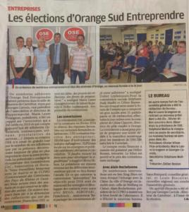 14 juin 2016 Élections OSE