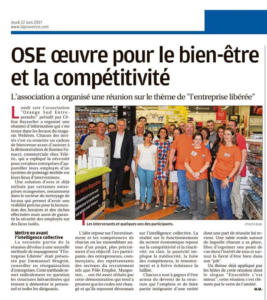 La Provence 22 juin 2017 Orange OSE-