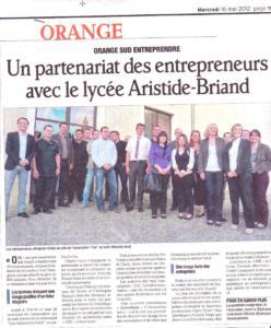 Un partenariat des entrepreneurs