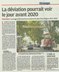La deviation avant 2020