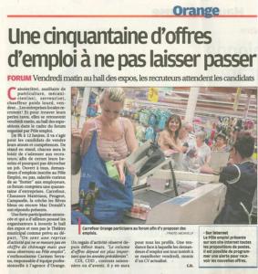Carrefour Forum Emploi