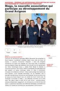 MEGA la nouvelle asso pour le developpement du Grand Avignon  28dec2015