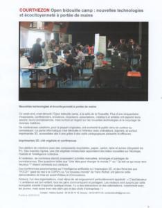 Couthezon : Open Bidouille Camp 30mars2016