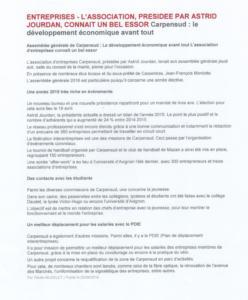 Carpensud developpement economique 3avril2016