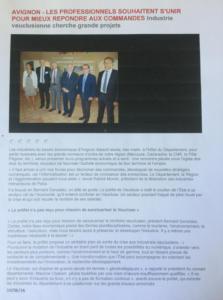 10 juin 2016 Avignon unions des professionnels de l'industrie
