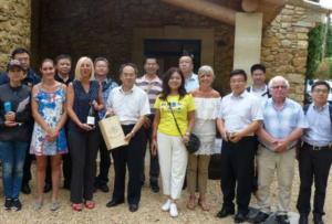 quatorze représentants chinois de Pékin et des provinces environnantes ont été accueillies