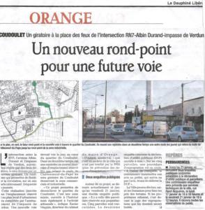 Travaux Rond-point ZI du Coudoulet